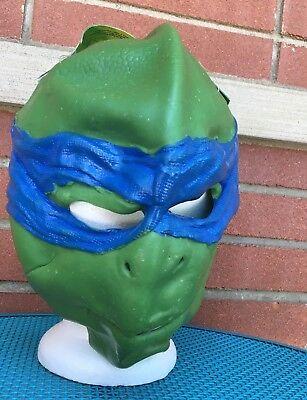 Leonardo Teenage Mutant Ninja Turtles Mask TMNT Halloween Adult Costume 3/4