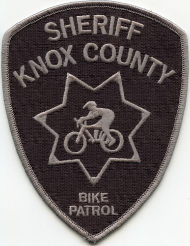 KNOX COUNTY TENNESSEE TN SHERIFF BIKE PATROL Bicycle POLICE PATCH