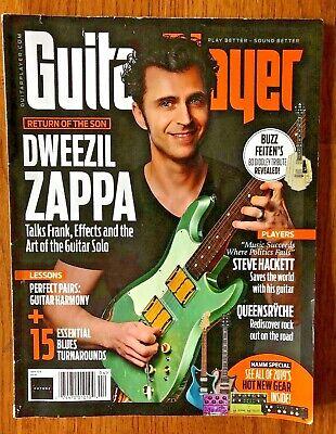Guitar Player Magazine April 2019 | Dweezil Zappa
