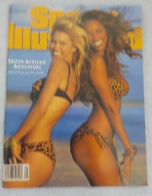 Sports Illustrated January 1996 South African Adventure Tyra Banks Valeria Mazza