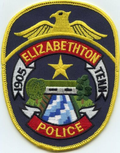 ELIZABETHTON TENNESSEE TN POLICE PATCH