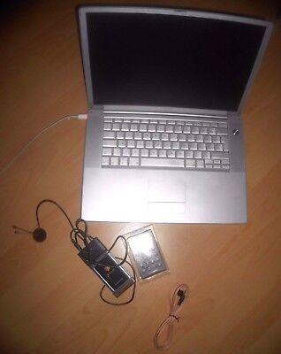 Apple PowerBook G4 38,6 cm (15,2 Zoll)☑Laptop-M8362D/A (2001)☑Computer