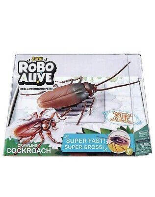 Zuru Robo Alive Crawling Cockroach - Real Life Robotic Pets!