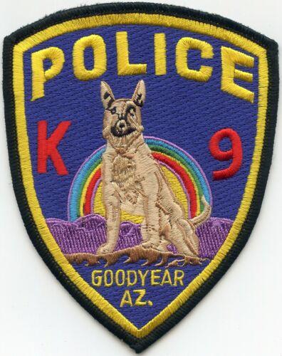 GOODYEAR ARIZONA AZ K-9 POLICE PATCH