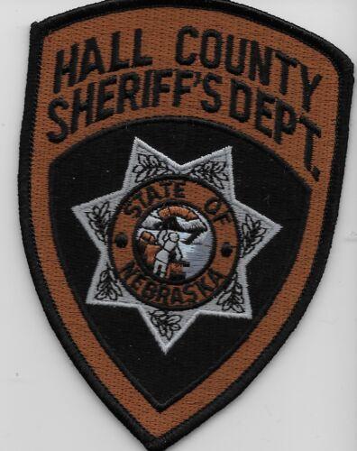 Hall County Sheriff State Nebraska NE NEW