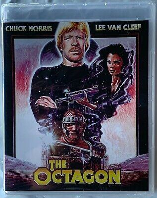 NEW THE OCTAGON BLU RAY RARE OOP SCORPION RELEASING FREE