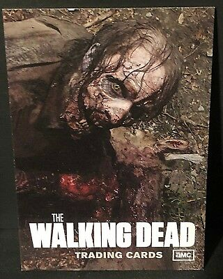 THE WALKING DEAD 2011 Cryptozoic Season One PROMO Card #P1 Rare ZOMBIE Sample L2