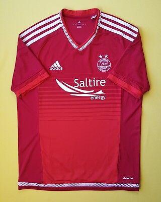 4.7/5 Aberdeen jersey MEDIUM 2014 2015 home shirt AA0463 soccer football Adidas image