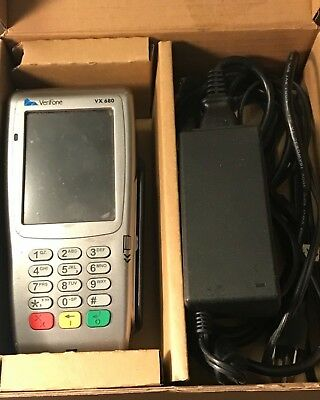 Verifone Vx 680 3g Wireless Credit Card Terminal M268-793-c6-usa-3