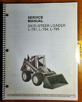 New Holland L-781 L-784 L-785 Skid-steer Loader Service Manual 40078130 686