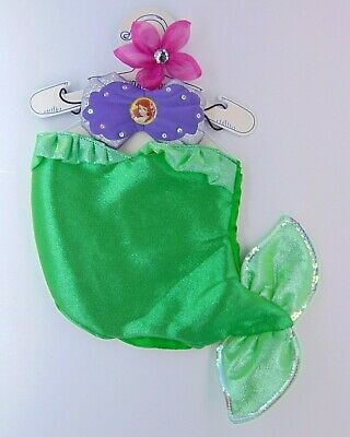 Build A Bear Disney Princess The Little Mermaid Ariel Outfit (Halloween Costume) (A Little Princess Costume)