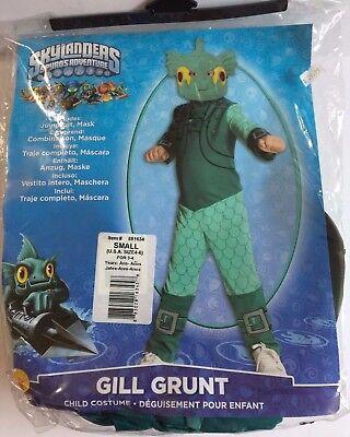 Skylanders Spyro's Adventure Gill Grunt Halloween Costume Children's Size S NEW](Spyro Halloween Costume)