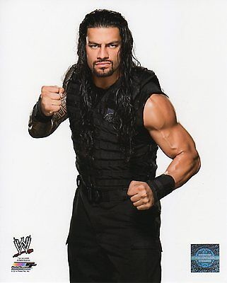 "ROMAN REIGNS WWE PHOTO STUDIO 8x10"" OFFICIAL WRESTLING PROMO NEW"
