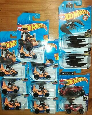 NEW HOT WHEELS 2020 GRASS CHOMPER TREASURE HUNT with Bat Plane and Sword Warthog