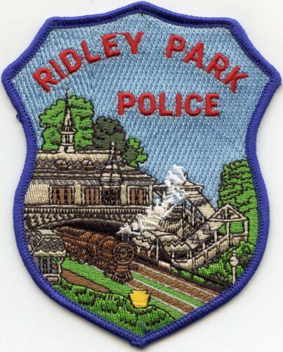 RIDLEY PARK PENNSYLVANIA PA Train POLICE PATCH