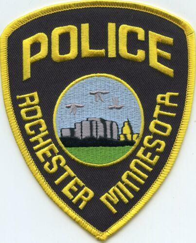 ROCHESTER MINNESOTA MN POLICE PATCH