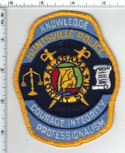 Huntsville Police (Alabama) Uniform Take-Off Shoulder Patch
