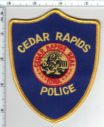 Cedar Rapids Police (Iowa)  Shoulder Patch - new from the 1980