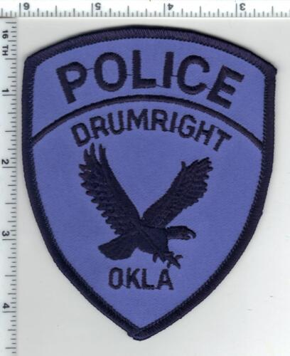 Drumright Police (Oklahoma) 3rd Issue Shoulder Patch