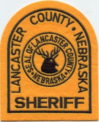 LANCASTER COUNTY NEBRASKA NE felt SHERIFF POLICE PATCH