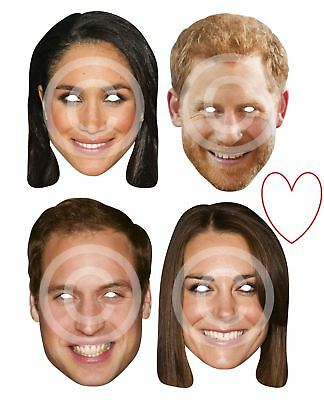 Königsblau Familie Party Masken Duchess Prinz Kostüm - Familien Spaß Kostüm
