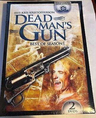 Dead Man's Gun: Best of Season 1 (2-DVD, 2012, MGM) Kris Kristofferson Region