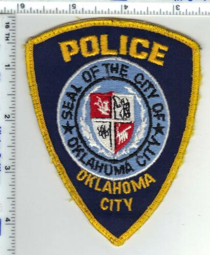 Oklahoma City Police (Oklahoma) Uniform Take-Off Shoulder Patch from the 1980