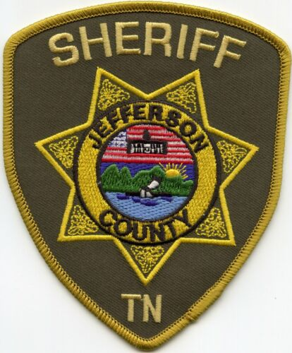 JEFFERSON COUNTY TENNESSEE TN SHERIFF POLICE PATCH