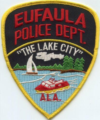 EUFAULA ALABAMA AL The Lake City POLICE PATCH