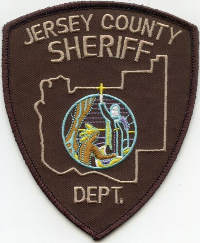 JERSEY COUNTY ILLINOIS IL SHERIFF POLICE PATCH