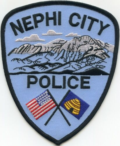NEPHI CITY UTAH UT Beehive POLICE PATCH