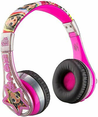 LOL Surprise Remix OMG Wireless Bluetooth Portable Kids Headphones with...