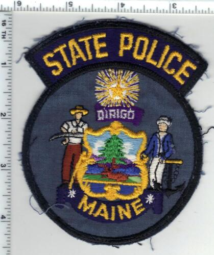 State Police (Maine) Uniform Take-Off Shoulder Patch from the Early 1980
