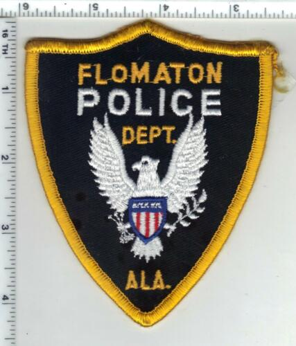 Flomaton Police (Alabama) 1st Issue Shoulder Patch