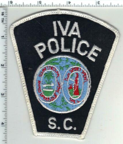 Iva Police (South Carolina) 1st Issue Uniform Take-Off Shoulder Patch
