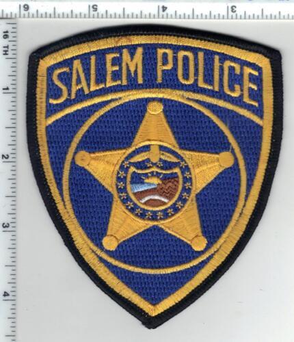 Salem Police (Oregon) Shoulder Patch from the 1980