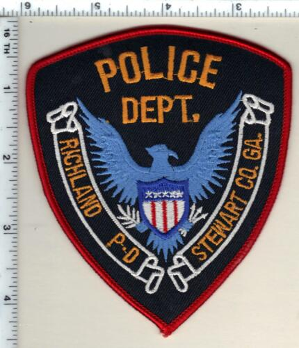 Richland Police (Georgia)  Shoulder Patch - new from 1990
