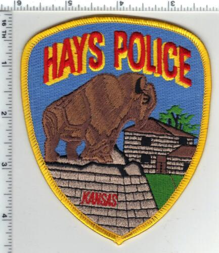Hays Police (Kansas) 4th Issue Shoulder Patch