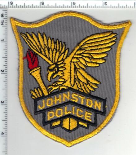 Johnston Police (Rhode Island) 1st Issue Shoulder Patch