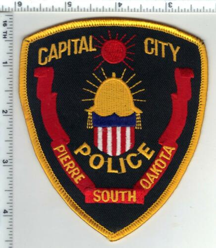 Pierre Police (South Dakota) Capital City Shoulder Patch from 1980