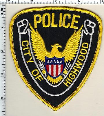City of Highwood Police (Illinois)  Shoulder Patch - new from 1991