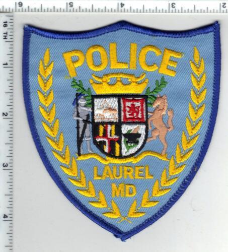 Laurel Police (Maryland) Uniform Take-Off Shoulder Patch