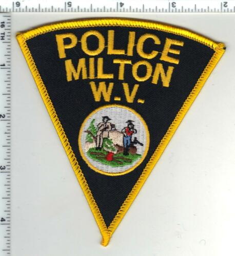Milton Police (West Virginia) 1st Issue Shoulder Patch