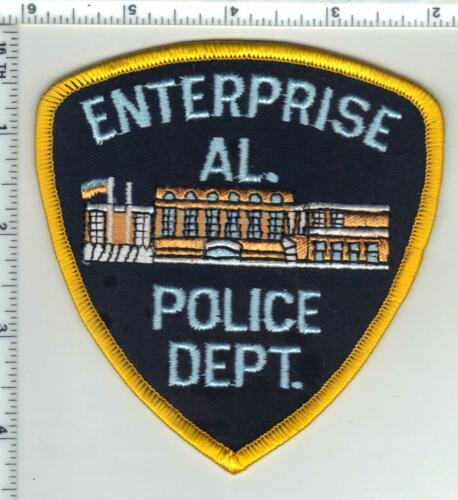 Enterprise Police (Alabama) 3rd Issue Shoulder Patch