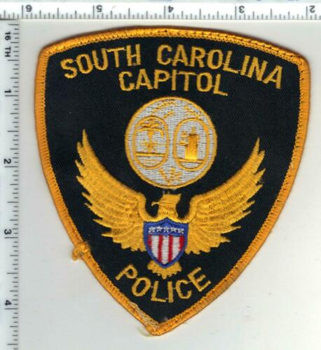 Capitol Police (South Carolina) 1st Issue Uniform Take-Off Shoulder Patch