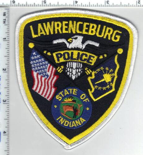 Lawrenceburg Police (Indiana)  Shoulder Patch - new from the 1980s