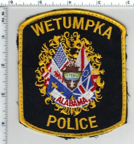 Wetumpka Police (Alabama) 3rd Issue Uniform Take-Off Shoulder Patch
