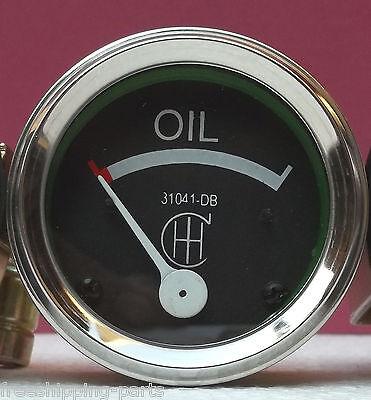 Ih Farmall Oil Pressure Gauge Fits A B F12 F14 F20 F30 Series - Screwin