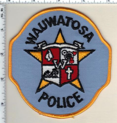 Wauwatosa Police (Wisconsin) 2nd Issue Uniform Take-Off Shoulder Patch