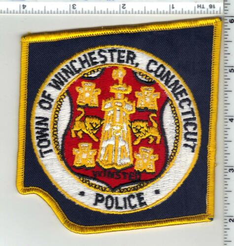 Winchester Police (Connecticut) 1st Issue Shoulder Patch